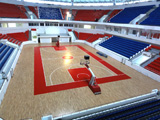 Basket Hall sports centre Krasnodar, Russia