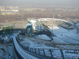 Sunkar international ski jumping complex Almaty, Kazakhstan