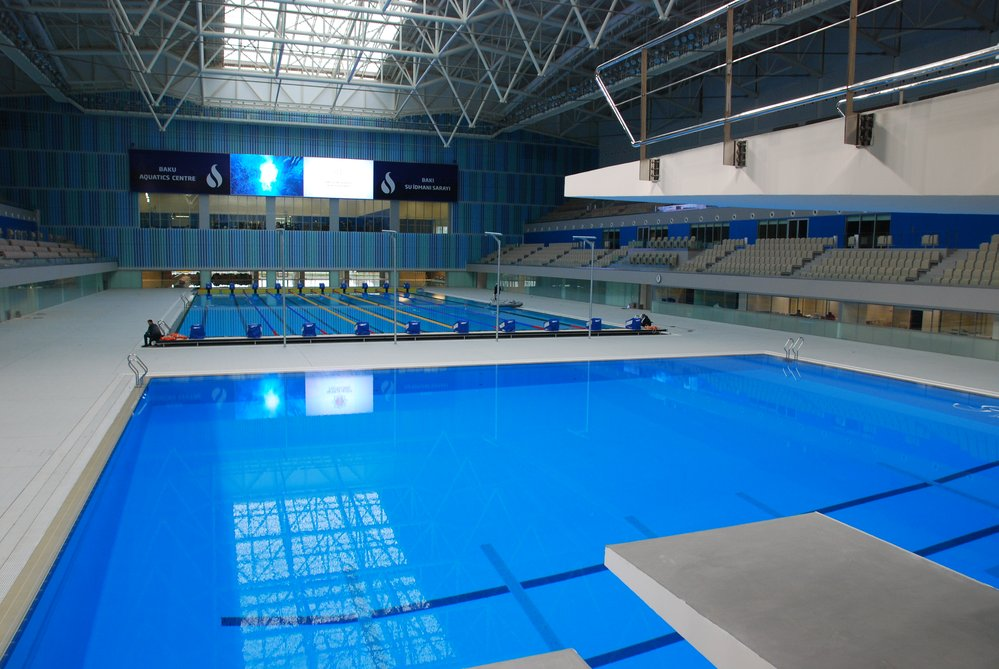Swimming pools and swimming halls