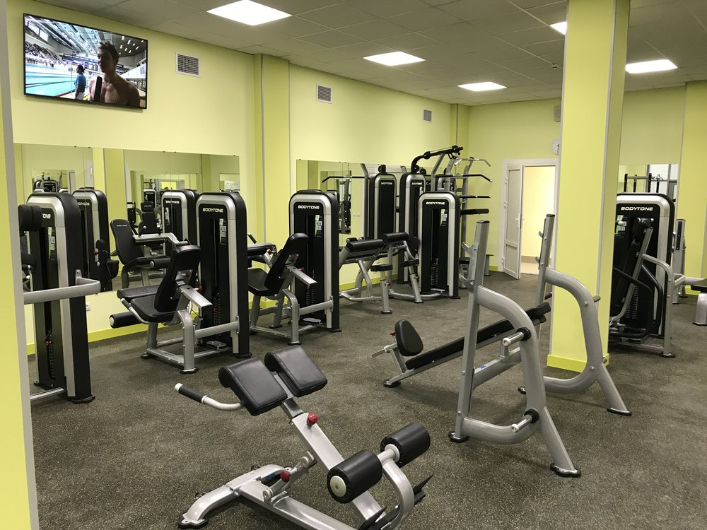 Equipment for fitness centers