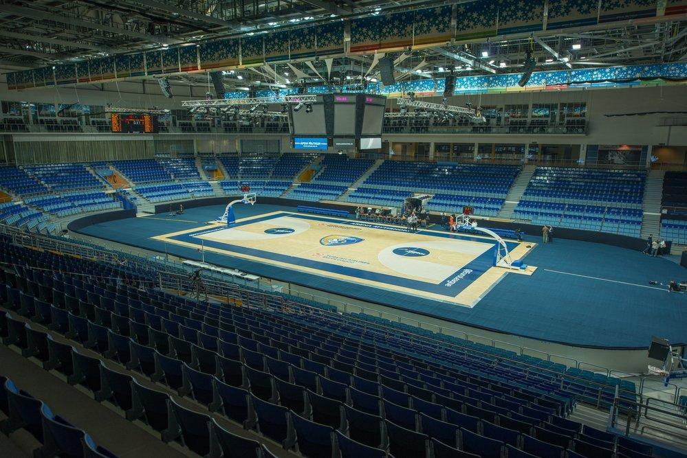 Multisport arenas