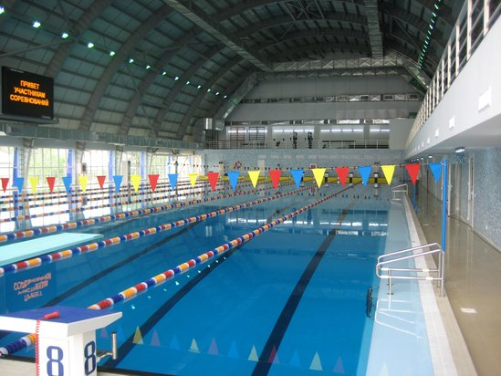 Munayshi swimming pool Atyrau, Kazakhstan