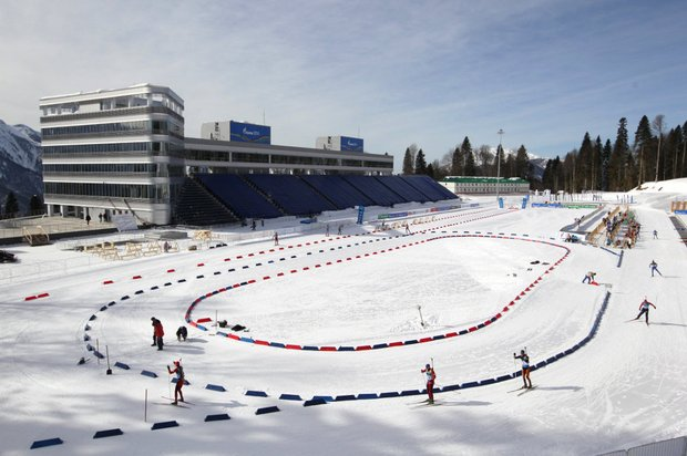 Laura ski and biathlon complex Sochi, Russia