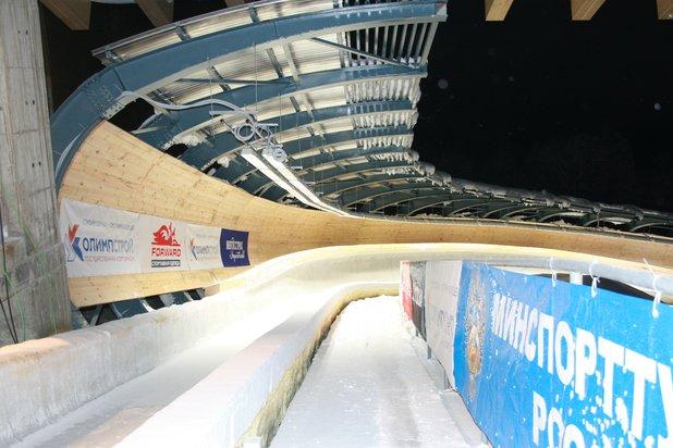 Sanki sliding centre Sochi, Russia