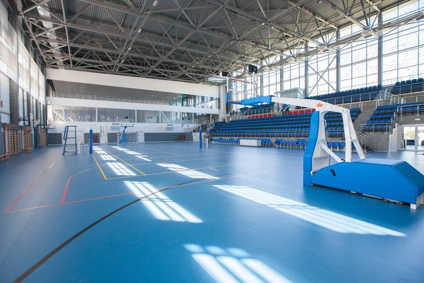 Sport and fitness centers with multisports hall