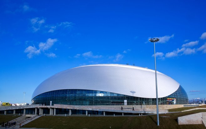 Bolshoy Ice Dome sports arena Sochi, Russia