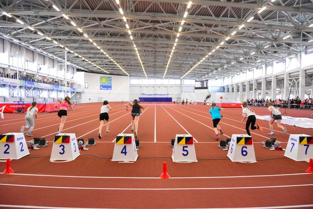 Veresniki track and field Indoor arena Kirov, Russia