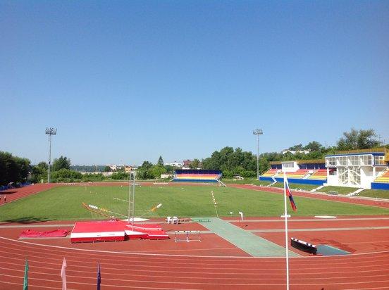 Yunost stadium Kaluga, Russia