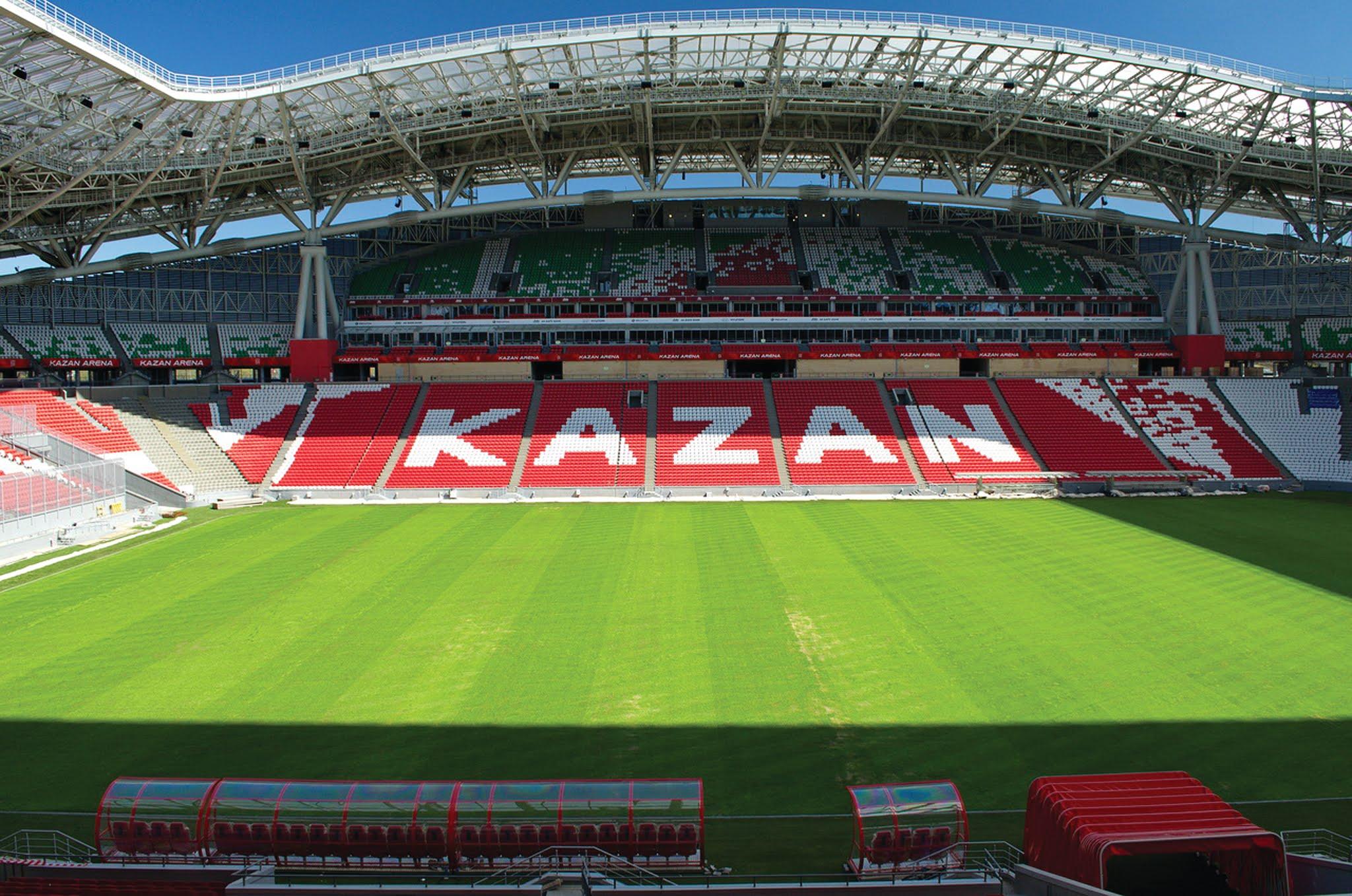 Kazan Arena stadium Kazan, Russia