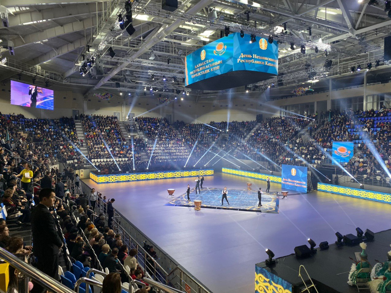 Abai Arena sports complex Semipalatinsk, Kazakhstan