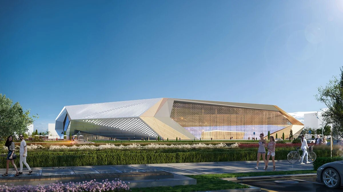 Indoor track and field facility, Nur-Sultan, Kazakhstan