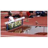 Steeplechase Water Pit. IAAF certificate.