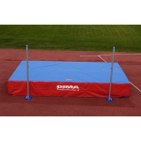 Weather cover for high jump landing system