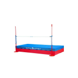 Single cover high jump landing system