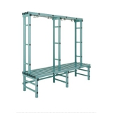 Benches WBX SINGLE series for gyms, swimmings pools and wellness areas