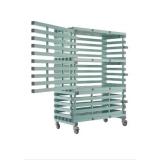 Storage sports materials trolley LOCKABLE - ETX LOCK