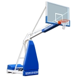 Hydroplay Club portable basketball backstop