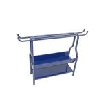 Gymnastic equipment trolley S00360