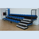 Telescopic grandstand