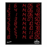 Swimming scoreboard PICCOLO