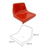 Stadium backrest shell seats CR2 certificated FIBA