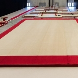 Training Spring Floor 13.05 x 13.05 m with carpet - with unmounted springs