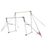 """Competition asymmetric bars """"Rio"""" with short cable system"""