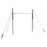 Training adjustable high bar. Short cable