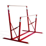 Training freestanding asymmetric bars for schools with fixed feet