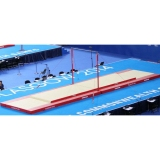 Competition set of landing mats London for high bar - FIG approved