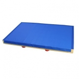 Landing mat 300 x 200 x 20 cm hook and loop fastener bib down length - European Norms