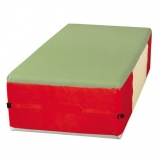Covered foam block- Jersey - 200 x 100 x 50 cm (LxWxTh)