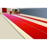 Acrobatic track acroflex with adjustable elasticity - 6 x 2 m
