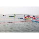 Finishing lines for Open Water