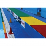 Referees structure Catwalk for water polo certificated by FINA
