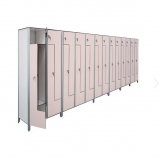 Lockers L- door variant for gyms, swimmings pools and wellness areas