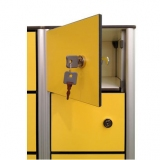 Lockers Safety deposit boxes for gyms, swimmings pools and wellness areas