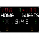 Scoreboard for multisport compact range 452 MS 3000