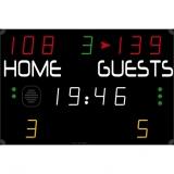 Scoreboard for multisport compact range 452 MS 3000