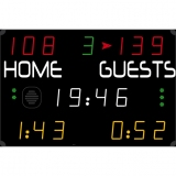 Scoreboard for multisport compact range 452 MS 7000