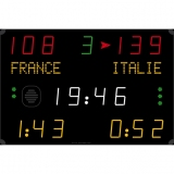 Scoreboard for multisport compact range 452 MS 7100
