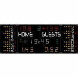 Scoreboard for multisport compact range 452 MS 7020