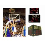 Scoreboard for basketball 24-second shot-clocks FIBA