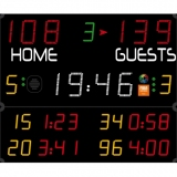 Scoreboard for handball Pro range 452 MB 3003 FIBA