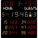 Scoreboard for handball Pro range 452 MB 3004 FIBA