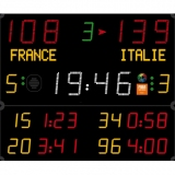 Scoreboard for handball Pro range 452 MB 3103 FIBA