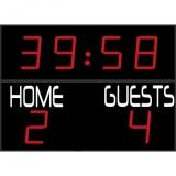 Scoreboard for football outdoor range FFC
