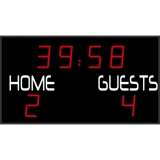 Scoreboard for football outdoor range FFB