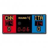 Boxing scorebaord CBF