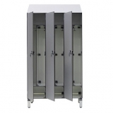Lockers Q/TI series for gyms, swimmings pools and wellness areas